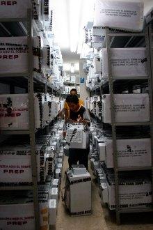 Las boletas electorales de 2006. Foto: Karina Urbina