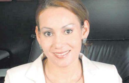 La exalcaldesa de Tiquicheo, María Santos Gorrostieta Salazar. Foto: Tomada de Twitter.