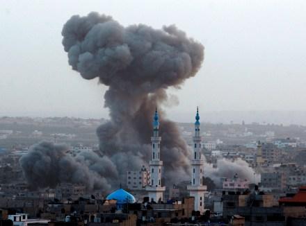 Ofensiva israelí Foto: AP