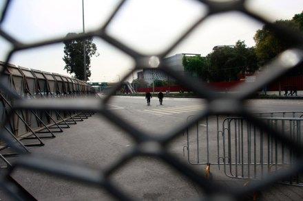 Cercan San Lázaro para toma de posesión de EPN. Foto: Hugo Cruz