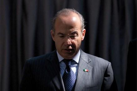 El expresidente Felipe Calderón. Foto: Miguel Dimayuga