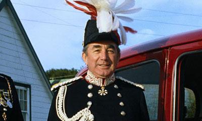 El británico Rex Hunt, quien gobernó las Islas Malvinas durante la guerra entre Gran Bretaña y Argentina. Foto: The Guardian