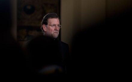 Mariano Rajoy en el Palacio de la Moncloa. Foto: AP / Paul White