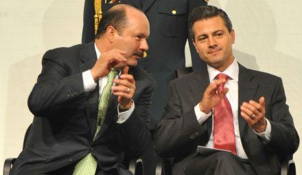 Peña y Duarte en Chihuahua, el martes pasado. Foto: Cortesía