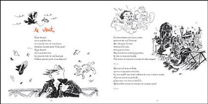 Las canciones ilustradas de Brassens.