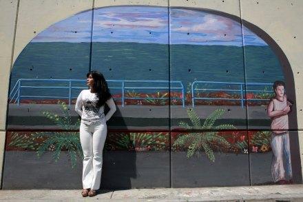 Sandra Ávila Beltrán, La Reina del Pacífico, en un retrato de agosto de 2008. Foto: Octavio Gómez