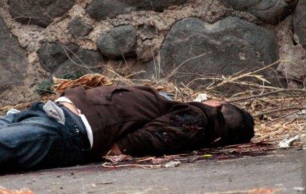 Joven asesinado. Foto: Margarito Pérez