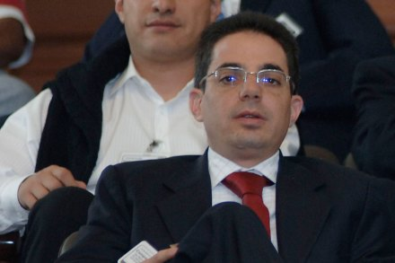 Alberto Bazbaz Sacal, titular de la Unidad de Inteligencia Financiera (UIF), de la SHCP. Foto: Miguel Dimayuga