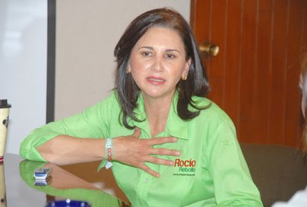 La presidenta de Gómez Palacio, Rocío Rebollo Mendoza. Foto: Especial