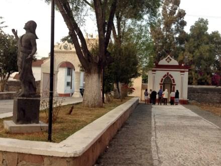 El camino procesional en San Toribio. Foto: Armando Gutiérrez