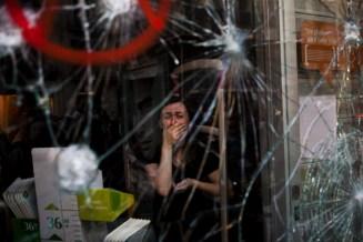 Crisis en Barcelona. 3er lugar en temas contemporáneos. Foto: Emilio Morenatti / WPP
