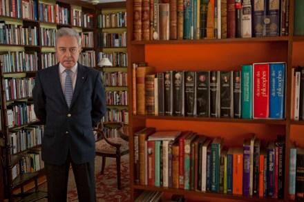 Héctor Vasconcelos. Cumple su palabra. Foto: Miguel Dimayuga