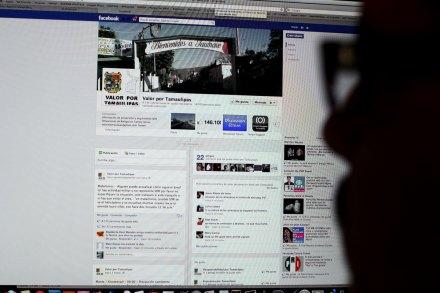 """El sitio de Facebook """"Valor por Tamaulipas"""". Foto: Especial"""