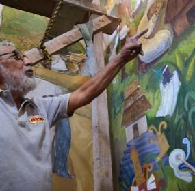 David Celestinos Isaacs, fundador de la fiesta del Huapango. Foto: Todostienenlarazon.blogspot.mx