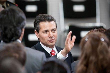 El titular del Ejecutivo, Enrique Peña Nieto. Foto: Xinhua / Rodrigo Oropeza
