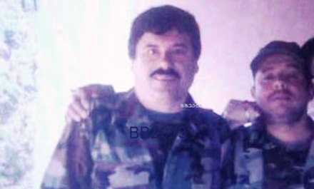 """Joaquín """"El Chapo"""" Guzmán Loera, líder del cártel de Sinaloa. Foto: Borderland Beat"""