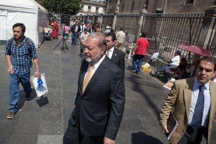 El empresario Carlos Slim. Foto: Octavio Gómez