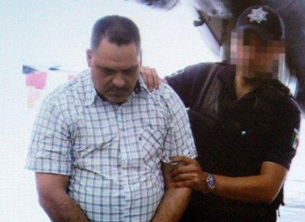 Una imagen tomada del video que presentó la Segob sobre la detención de Inés Coronel Barrera. Foto: Especial