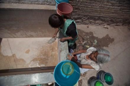 Pobreza en Acatempa, municipio de Tixtla, Guerrero. Foto: Miguel Dimayuga.