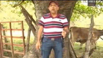 Servando Gómez Martínez, La Tuta, líder de Los Caballeros Templarios. Foto: Youtube.com