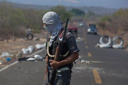 Buenavista, Michoacán. Zona de guerra. Foto: Octavio Gómez
