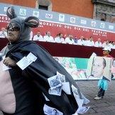 Querétaro. Trabajadores conmemoran el Día del Trabajo. Foto: Agencia Siefoto