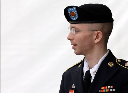 El soldado Bradley Manning. Foto: AP
