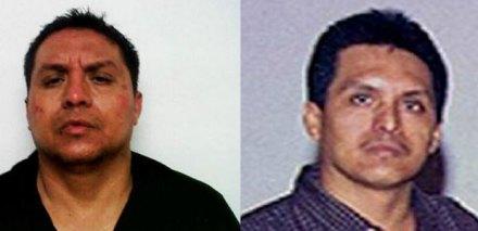 A la izquierda una foto de la supuesta captura de Treviño; y a la derecha una foto de archivo. Foto: Tomada de Twitter / Archivo