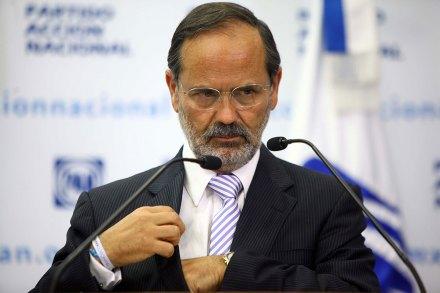 El presidente del PAN, Gustavo Madero. Foto: Germán Canseco