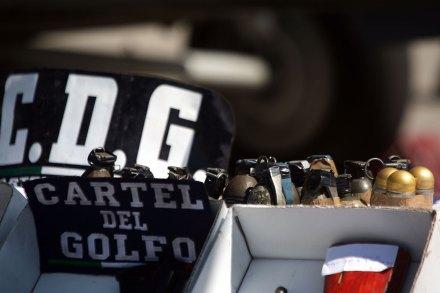 (Archivo) Un decomiso de la Marina al Cártel del Golfo en Tamaulipas. Foto: Octavio Gómez