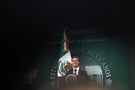 El titular del Ejecutivo, Enrique Peña Nieto. Foto: Benjamin Flores