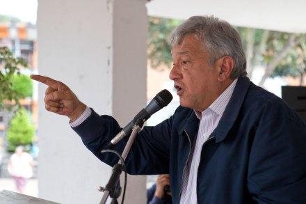 El excandidato a la Presidencia, Andrés Manuel López Obrador. Foto: Eduardo Miranda
