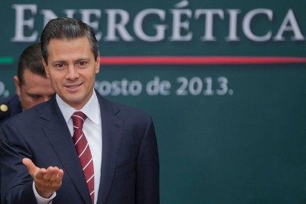 Peña Nieto durante la presentación de la reforma energética. Foto: Octavio Gómez