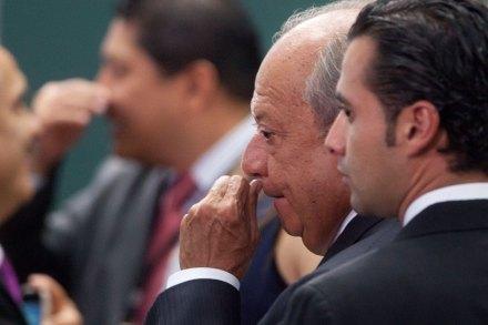 Romero Deschamps durante la presentación de la reforma energética. Foto: Octavio Gómez