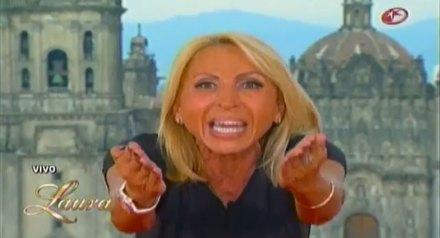 Laura Bozzo durante su programa vespertino. Foto: Tomada de YouTube