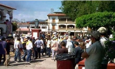 Alcaldía de Apatzingán. Foto: La Voz de Michoacán.