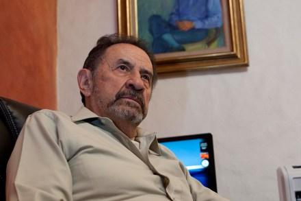 Jorge Carrillo Olea, fundador del Cisen. Foto: Eduardo Miranda