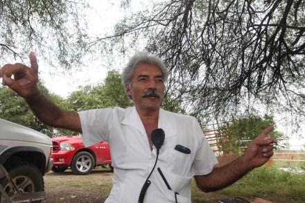 José Manuel Mireles, líder de la autodefensa. Foto: Benjamin Flores