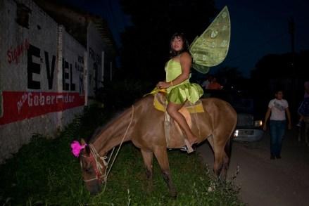 Un muxe en Oaxaca. Foto: Jacciel Morales