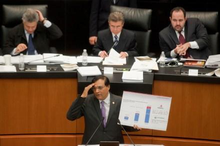 Discusión de la reforma energética en el Senado. Foto: Octavio Gómez