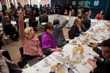Diputados votan la nueva Ley de Manifestaciones. Foto: Miguel Dimayuga