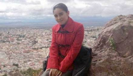 La periodista Zoila Edith Márquez Chiu, corresponsal y editora del portal Línea Informativa, de Zacatecas. Foto: Especial