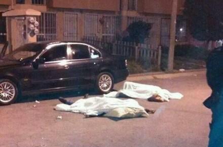 Archivo: Un hombre y una mujer muertos tras una balacera en Tecamac, Edomex. Foto: Tomada de Twitter