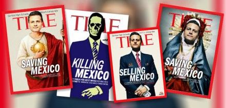 Algunos de los memes contra Peña y Time.