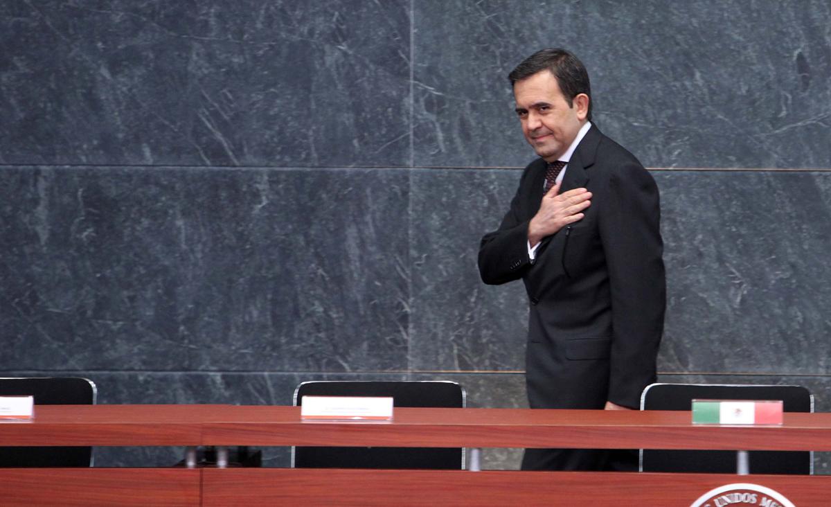 El secretario de Economía, Ildelfonso Guajardo. Foto: Benjamin Flores