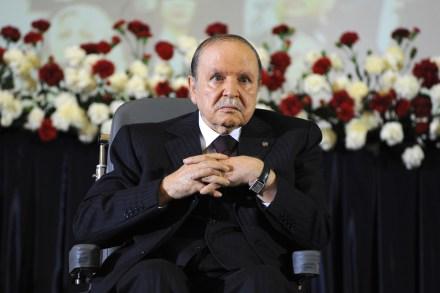 Abdelaziz Bouteflika, presidente de Argelia. Foto: AP