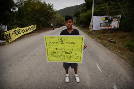 Jalcomulco. Rechazo. Foto: Rubén Espinosa