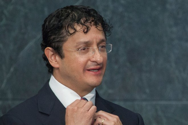 Virgilio Andrade, titular de la SFP. Foto: Octavio Gómez
