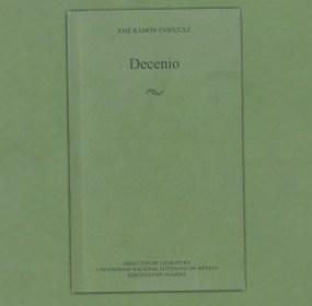 Decenio, de José Ramón Enríquez.