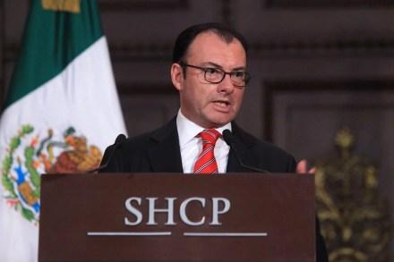 Luis Videgaray, titular de la SHCP. Foto: Eduardo Miranda